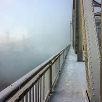 Переход. (мост через реку Зея)