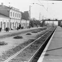 Петушки, вокзал, г. 1967