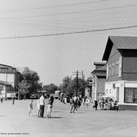 Петушки, площадь у вокзала, г. 1968