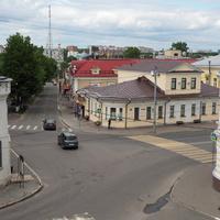 Перекресток Большой Московской и Никитинской улиц