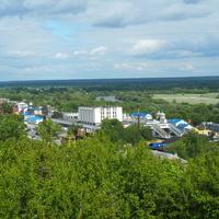 Район железнодорожного вокзала Владимира
