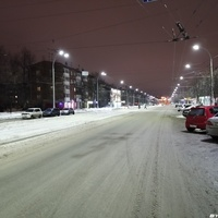 Проспект Ленина вид на восток в сторону цирка