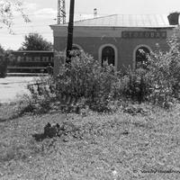 Петушки, вокзал, г. 1991