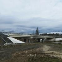 Автомобильный мост через реку Койва