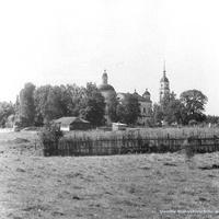 Рощино (Матренино), храм Воскресения Христова, г. 1968