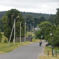 Сельская улица