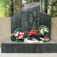 Мемориал погибшим в Чечне и Афганистане