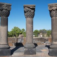 Развалины храма Звартноц.