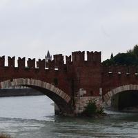 Мост Скалигеров в Вероне