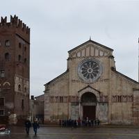 Базилика Сан-Дзено Маджоре в Вероне.