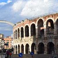 Древнеримский амфитеатр в Вероне