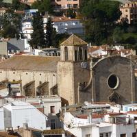 Панорама старого города  .