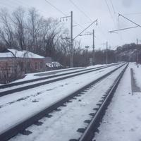 Остановочный Пункт железной дороги Ямская.