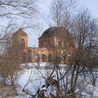 Воскресенская церковь в селе Супруты