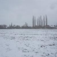 Школьный стадион.