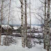 Снежный февраль в п. Новоильинск, Спортивный переулок