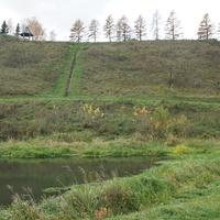 Одоев. Вид на крепость со стороны реки Упы
