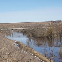 Одоев. Мост через реку Упу