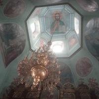 В Храме Тихвинской Иконы Божией Матери.