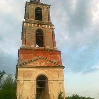 Колокольня Никольской церкви в урочище Аргуново близ д. Барсково