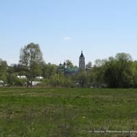 Лакинск. Церковь Казанской иконы Божией Матери, панорама с северо -запада