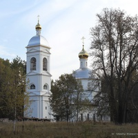 Андреевская церковь и погост близ Новоселова