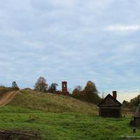 Дороги к селу Суворотское, вид с запада