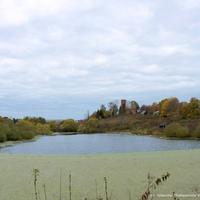 Река Соловуха, вид с плотины