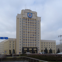 Улица Советская, 18. Белорусский государственный педагогический университет.