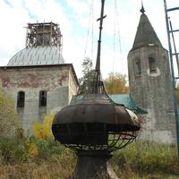 Старый купол у церкви Николая Чудотворца