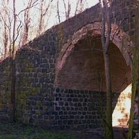Старый мост в урочище Надеждовка неподалеку  села Ротмистровка.