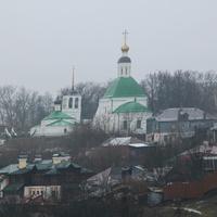 Вид на город Владимир