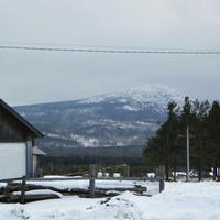 Вид на горы в Баяновке