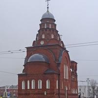 Улица Большая Московская. Церковь Троицы Живоначальной.