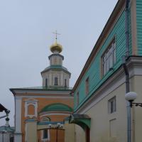 Улица Георгиевская. Церковь Георгия Победоносца.