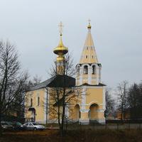 Улица Иванова Гора. Церковь Илии Пророка.