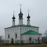 Улица Кремлёвская. Входоиерусалимская церковь.