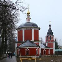 Улица Кремлёвская. Церковь Успения Пресвятой Богородицы.