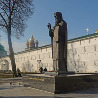 Памятник Преподобному Сергию Радонежскому