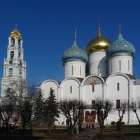 Свято-Троицкая Сергиева Лавра. Собор Успения Пресвятой Богородицы.