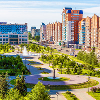 Сквер  Ермакова Новокузнецк