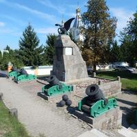 Памятник в честь победы над войсками Наполеона 15 июля 1812г.