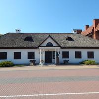В этом доме жил А.В.Суворов в 1797 и 1800 гг.
