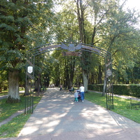 Вход в парк имени А.В.Суворова
