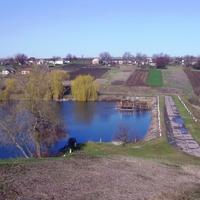 "Район ""Дачи"",плотина Машзаводского ставка."