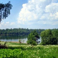 Вид на озеро Усая