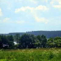 Вид на озеро Женно
