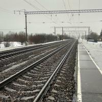 железная дорога в посёлке Волонга