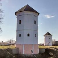 Быхов. Башни замка Ходкевичей.