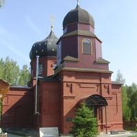Восстановленный храм Николая Чудотворца в селе Жабки Егорьевского района